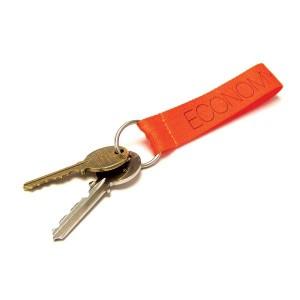 Economy Polyester Keychain