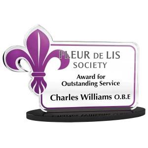 Bespoke Freestanding Acrylic Award