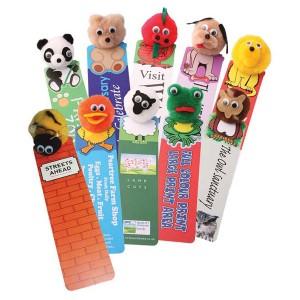Animal Logobug Bookmarks