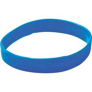 Recessed Silicone Wristband