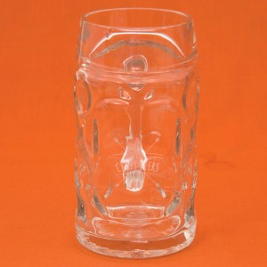 German Heavy Stein Glass