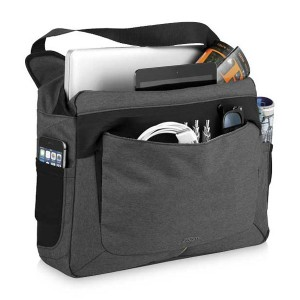 Zoom Power Stretch Laptop Messenger Bag