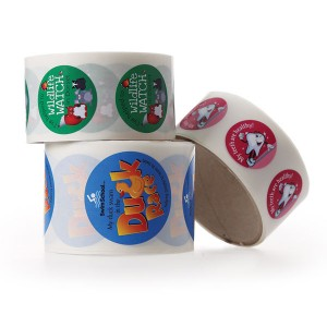 Paper Sticker Roll