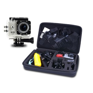 Prixton HD Action Camera with Accessories