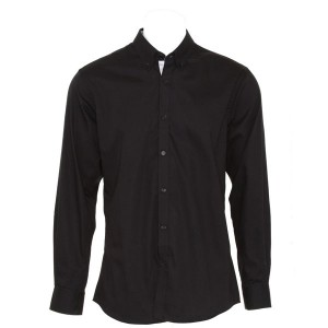 Kustom Kit Contrast Premium Oxford Shirt
