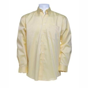 Kustom Kit Long Sleeve Corporate Oxford Shirt