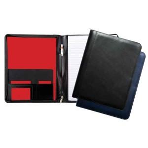 Warwick Leather A4 Zipped Conference Folder