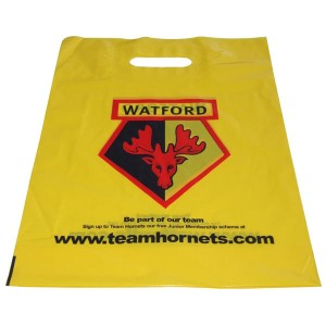 Standard Patch Handle Carrier Bag