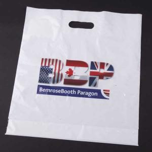 CMYK Digital Patch Handle Carrier Bag