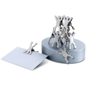 Metallic Man Design Clips