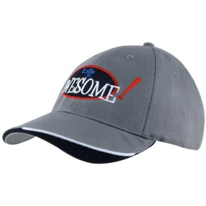 Brushed Heavy Cotton 6 Panel Baseball Cap