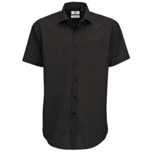 B&C Men's Smart Short Sleeved Shirt