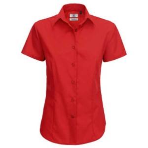 B&C Ladies Smart Short Sleeved Shirt