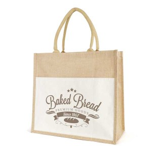 Large Laminated Jute Shopper