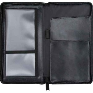 Standard Leather Zipped Travel Wallet