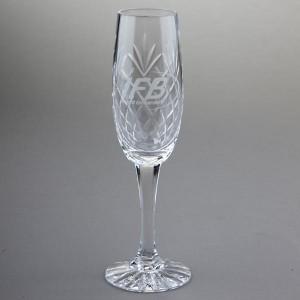 Glencoe Lead Crystal Champagne Flute