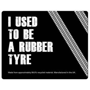 Tyre Brite-Mat Rectangular Mouse Mat