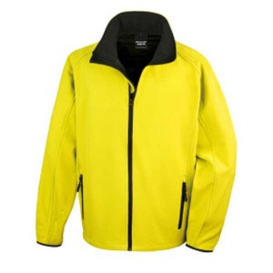 Result Core Mens Printable SoftShell Jacket