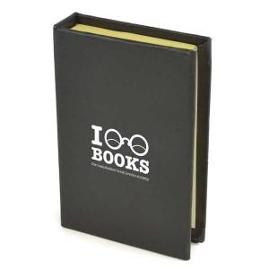 Small Hard Back Sticky Notebook