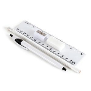 Translucent Pencil Case Set