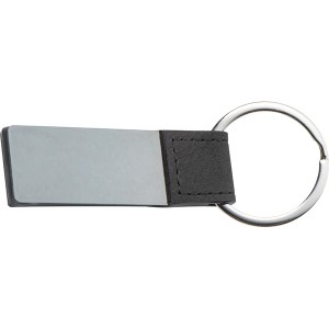 Smoked Metal Key Ring