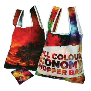 Full Colour Economy Folding Shopper