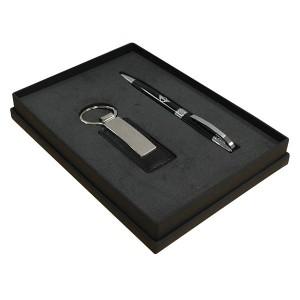 Ballpen and Key Ring Trafalger Gift Set