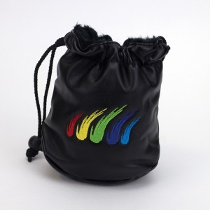 Wilson Staff Faux Leather Drawstring Valuables Pouch
