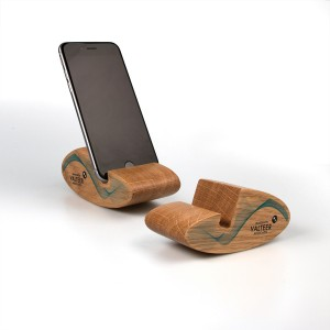 Oak Mobile Phone Stand