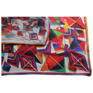 Printed Silk Square Scarf - Full Colour