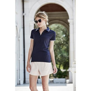 Tee Jays Ladies Luxury Stripe Polo