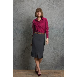 Kustom Kit Womens L/S Poplin Shirt
