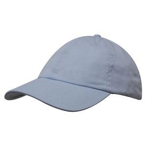 6 Panel Washed Chino Twill Baseball Cap