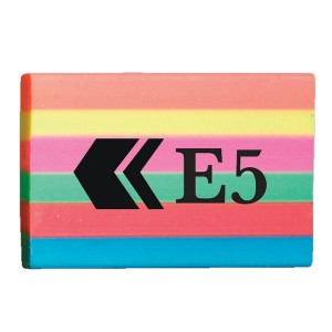 Rainbow E5 Eraser