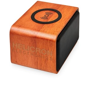 Avenue Heartwood Speaker and Wireless Charging Pad