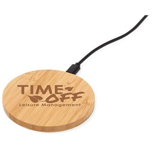 Essence Bamboo Wireless Charger