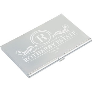 Aluminium Business Card Holder - Engraved