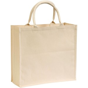 Broomfield 7oz Laminated Cotton Tote Bag - Natural
