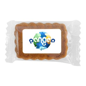 Gingerbread Cookie with Edible Label