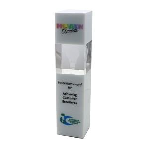 26cm Optical Crystal Column Award