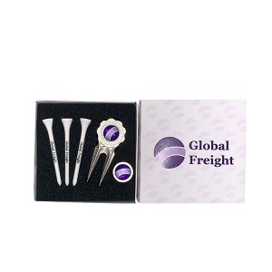 Card Gift Box - Tees, Fork & Ball Marker