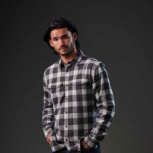 Stormtech Mens Logan Snap Front Shirt