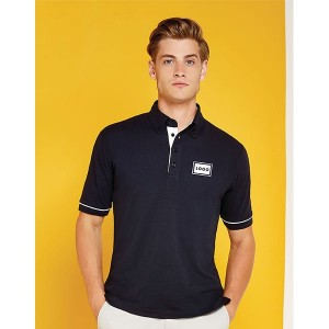Kustom Kit Button Down Contrast Polo