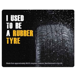 Tyre Brite-Mat Rectangular Mouse Mat - Full Colour