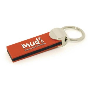 Layered PVC Key Ring