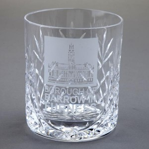 Glencoe Lead Crystal Whiskey Tumbler