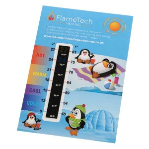 Temperature Gauge Card