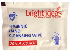 Individual Alcohol Wipe Sachets