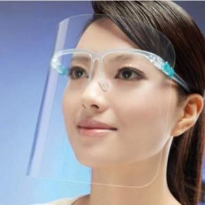 Keplin Face Protective Shield Visor with Glasses