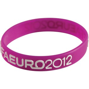 Raised Profile Silicone Wristband